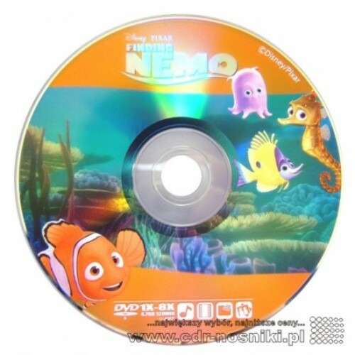 DVD-R 4,7 GB x8 <b>DISNEY NEMO Cake10</b>