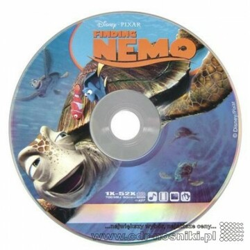 CD-R 700 MB 52x <b>DISNEY NEMO Cake10</b>