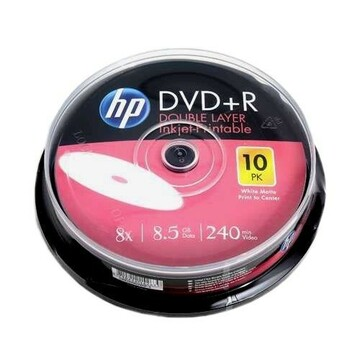 DVD+R 8,5 GB x8 HP printable